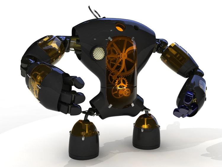 Как сделать механического робота