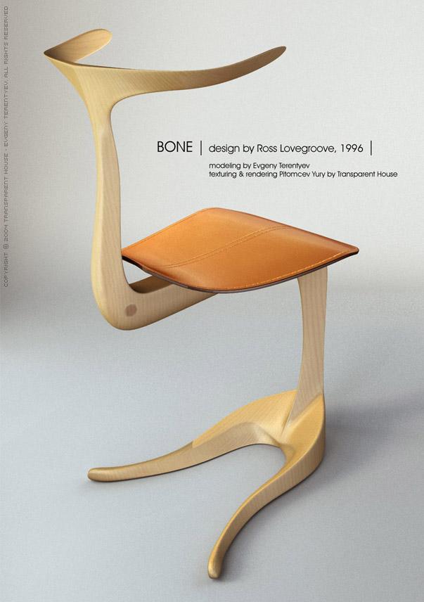Объекты bone chair by ross lovegroove 3dcenter ru