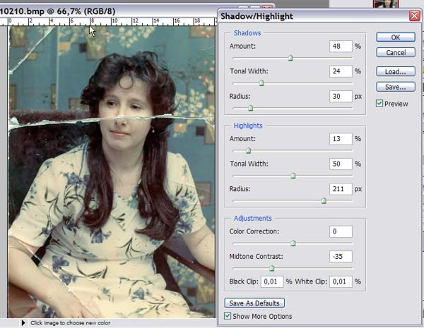 как восстановить смазанную фотографию онлайн